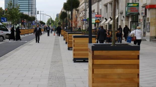 Od dnia otwarcia chodniki są pełne pieszych (Fot. Robert FRW)